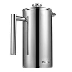 51oz French Press Stainless Steel , X Chef Thermal Carafe Es