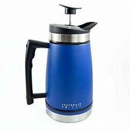 French Press Tabletop Coffee and Tea Maker Stainless Steel