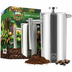 French Presses Press Coffee Maker - Stainless Steel Insulate