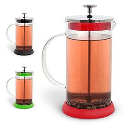 Teabloom French Tea Press 34 oz. - CLEARANCE - All Glass Bod