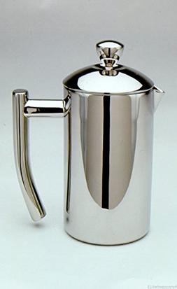 Frieling 0103 French Coffee Press Shiny 18/10 Stainless Stee
