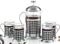 gcm9835 french press coffee maker set 800