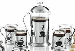 gcm9845 decorative french press coffee maker brewer