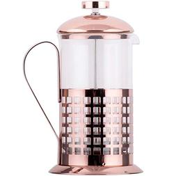 TableTop King 20 oz. Glass/Copper French Coffee Press