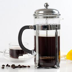 Secura 1 Liter Glass French Press Coffee Maker, 34-Ounce, BO