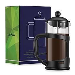 Glass French Press Coffee Maker - VIANKORS Coffee & Tea make