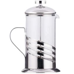 TableTop King 20 oz. Glass/Silver French Coffee Press