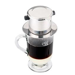 33 oz. Glass Stainless Steel French Coffee Press