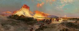 Green River Cliffs, Wyoming - Masterpiece Classic - Artist: