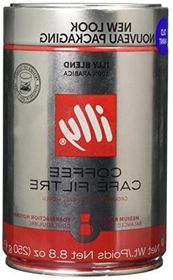 Illy Medium Grind Coffee, Medium Roast, 8.8 oz