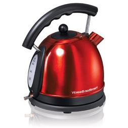 HB 1.80 QT Elec Kettle Red SS