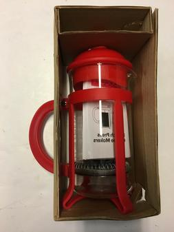 Bodum Java French Press Coffee Maker 12 oz. Red, 1903-294