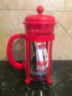 Bodum Java French Press Coffee Maker 12 oz. Red 1903-294