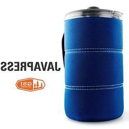GSI Outdoors Java Press Coffee Maker 30oz Blue 79432