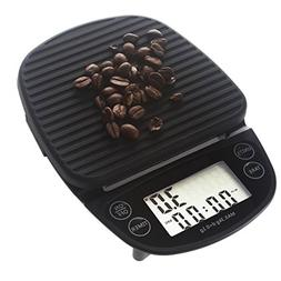 Digital Kitchen Scales Portable Coffee Scale with Timer Food
