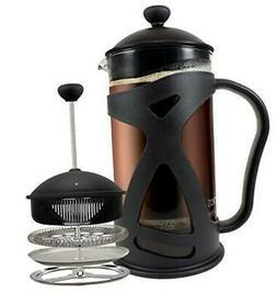 KONA French Press Coffee Maker With Reusable  1000ml Black