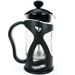 KONA French Press Small Single Serve Coffee and Tea Maker, B