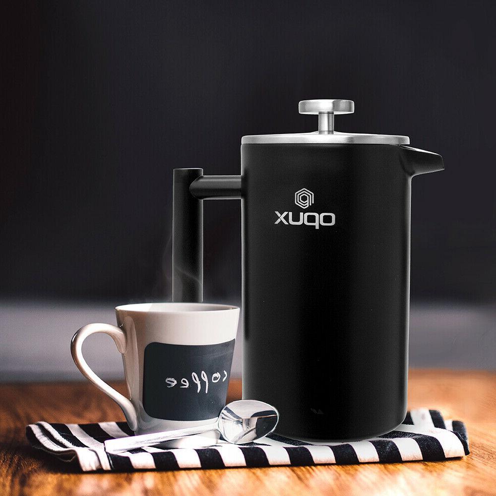 32oz Steel Press Coffee
