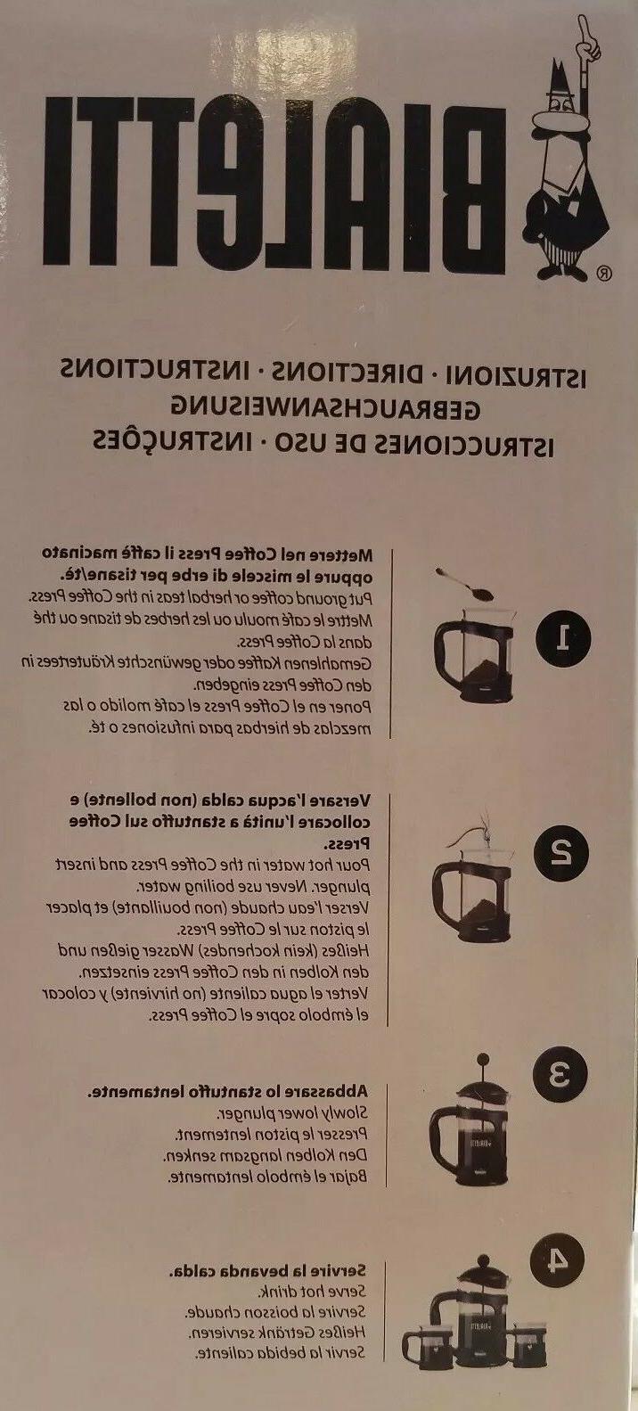 BIALETTI Cup COFFEE PRESS 3 Piece