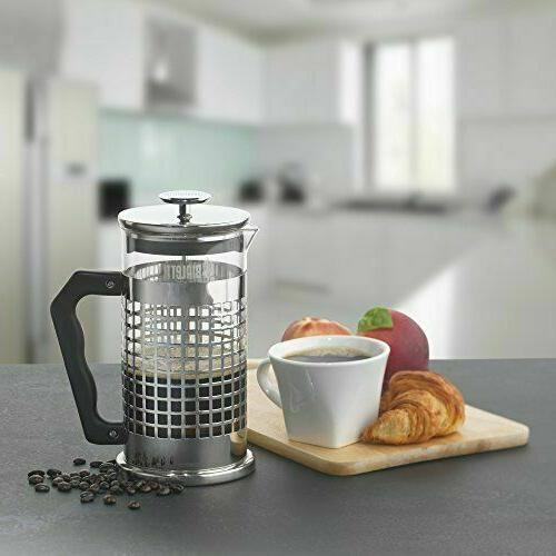Bialetti 8-Cup Premium Coffee Glass Stainless Steel