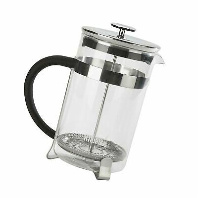 Bialetti, 06766, Stainless Steel Coffee Press , 3 cups , 12