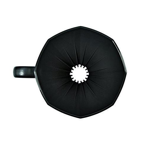 Bialetti 2 Cup Plastic Pourover Black
