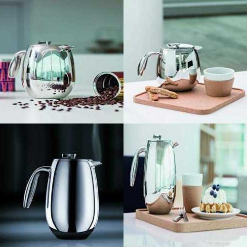 french press coffee maker set 5 pc