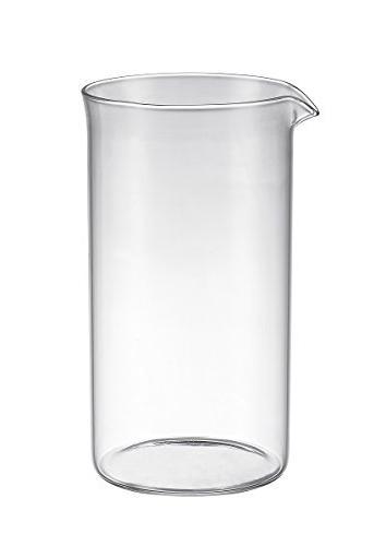 universal french coffee press glass