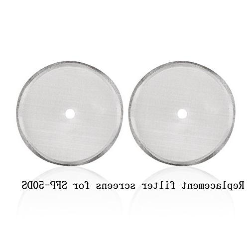 Secura French Press Coffee Maker Replacement Filter Screen