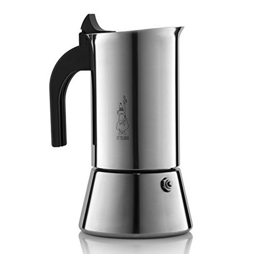 Venus Induction Capable Espresso Coffee Maker, Stainless Ste