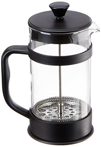 Francois et Glass French Coffee Maker, Black