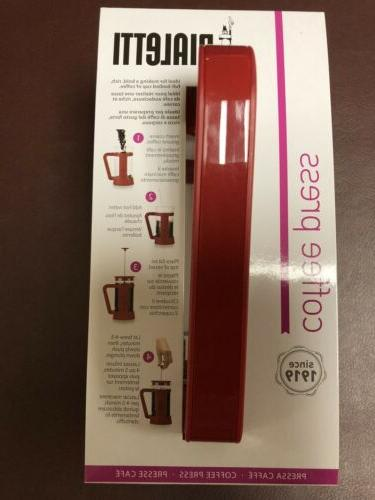 Brand New In Box Press Red French Press cups