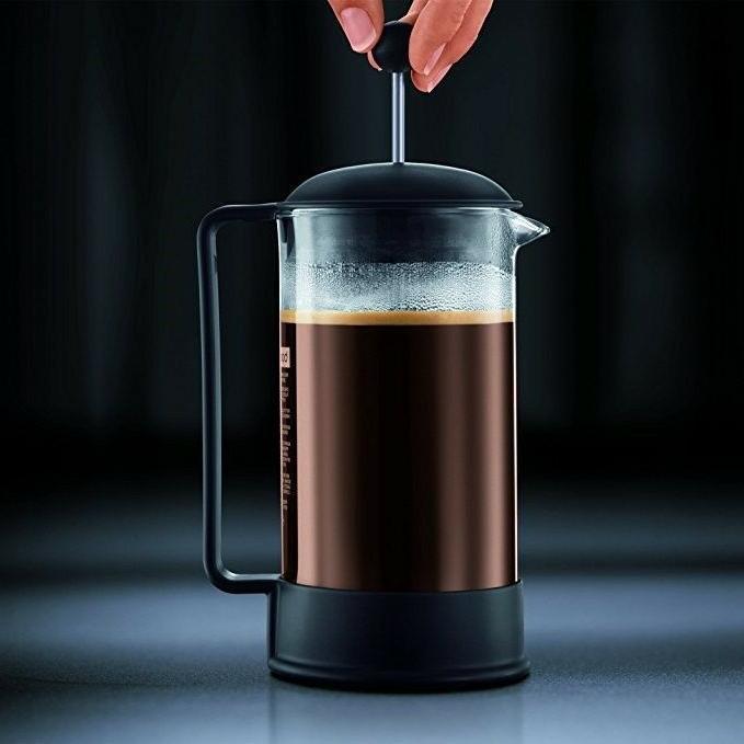 Bodum Brazil Press 3 Cafetiere Black