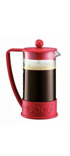 Bodum Brazil French Press 1-Liter 8-Cup Coffee Maker, 34-Oun