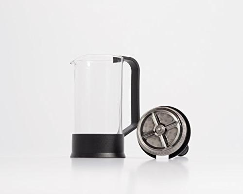 Brillante French with 12 Ounce Glass Beaker - Coffee and Maker BR-CP2-350