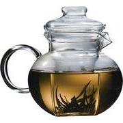 classic glass tea pot