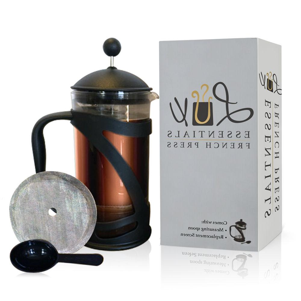 clearance lux french press coffee tea maker