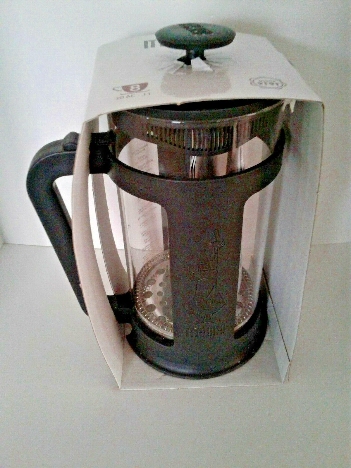 Bialetti 8 Cups Cups Removable Jar NEW MIP