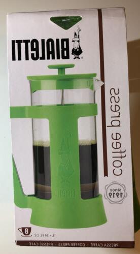 coffee french press green modern 1 l