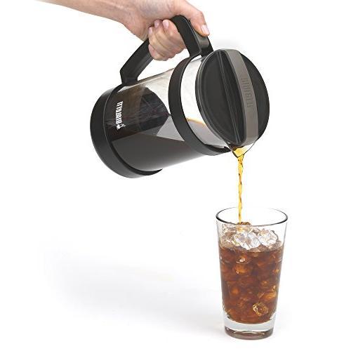 Bialetti Brew Maker 06765 – Mesh Filter – Portable Coffee Maker & Tea Infuser Coarse, Coffee,