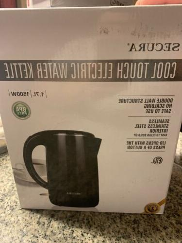 cool touch electric water kettle