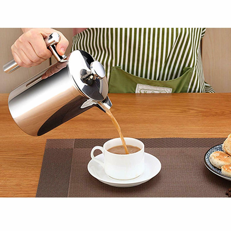 ENLOY Maker Double-Wall Steel Coffee
