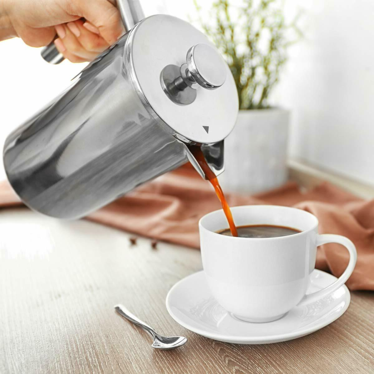 ENLOY Press Coffee Maker Stainless Coffee