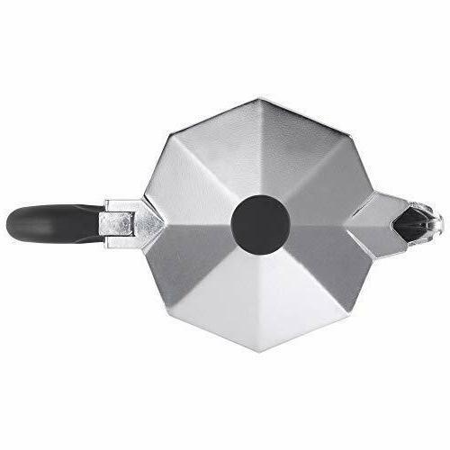 Bialetti 12-Cup, Aluminum Silver