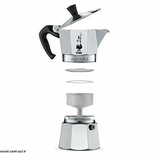 Bialetti Express Moka Pot, 12-Cup, Aluminum