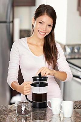 French 34 Oz Maker with Triple Filters Kitchen