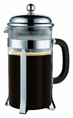 SterlingPro French Coffee Press 8 Cup  Chrome