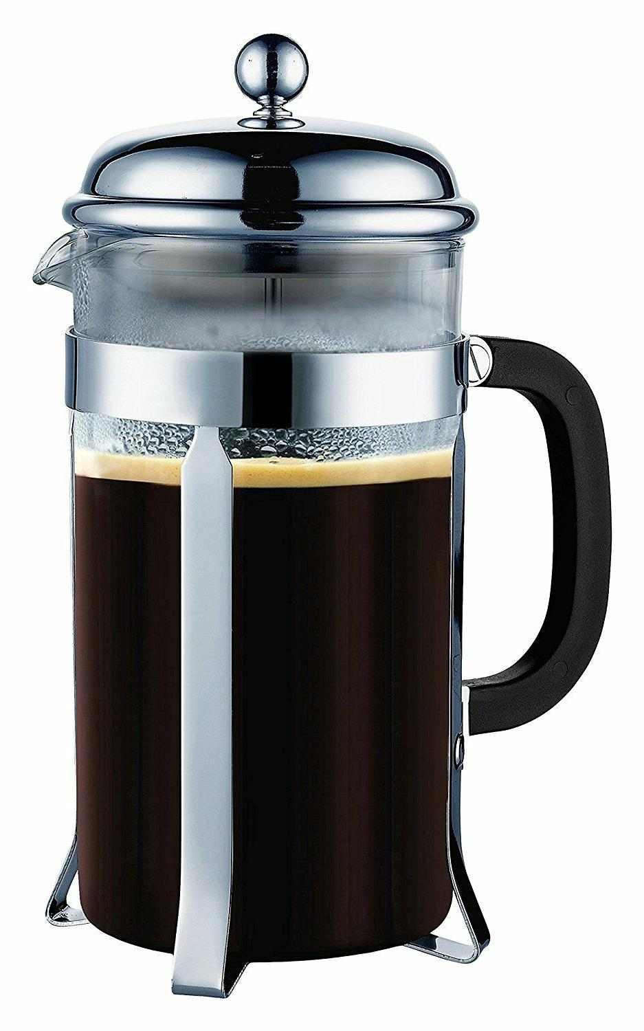 french coffee press 8 cup 1 liter