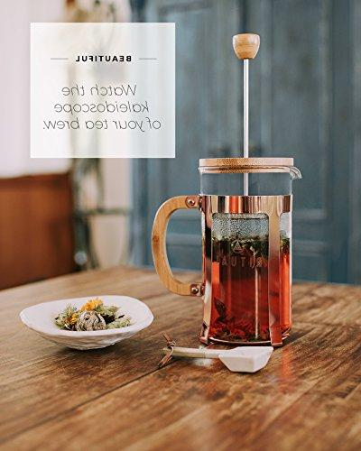 Ritual Coffee Bamboo and Copper Color Coffee Maker with