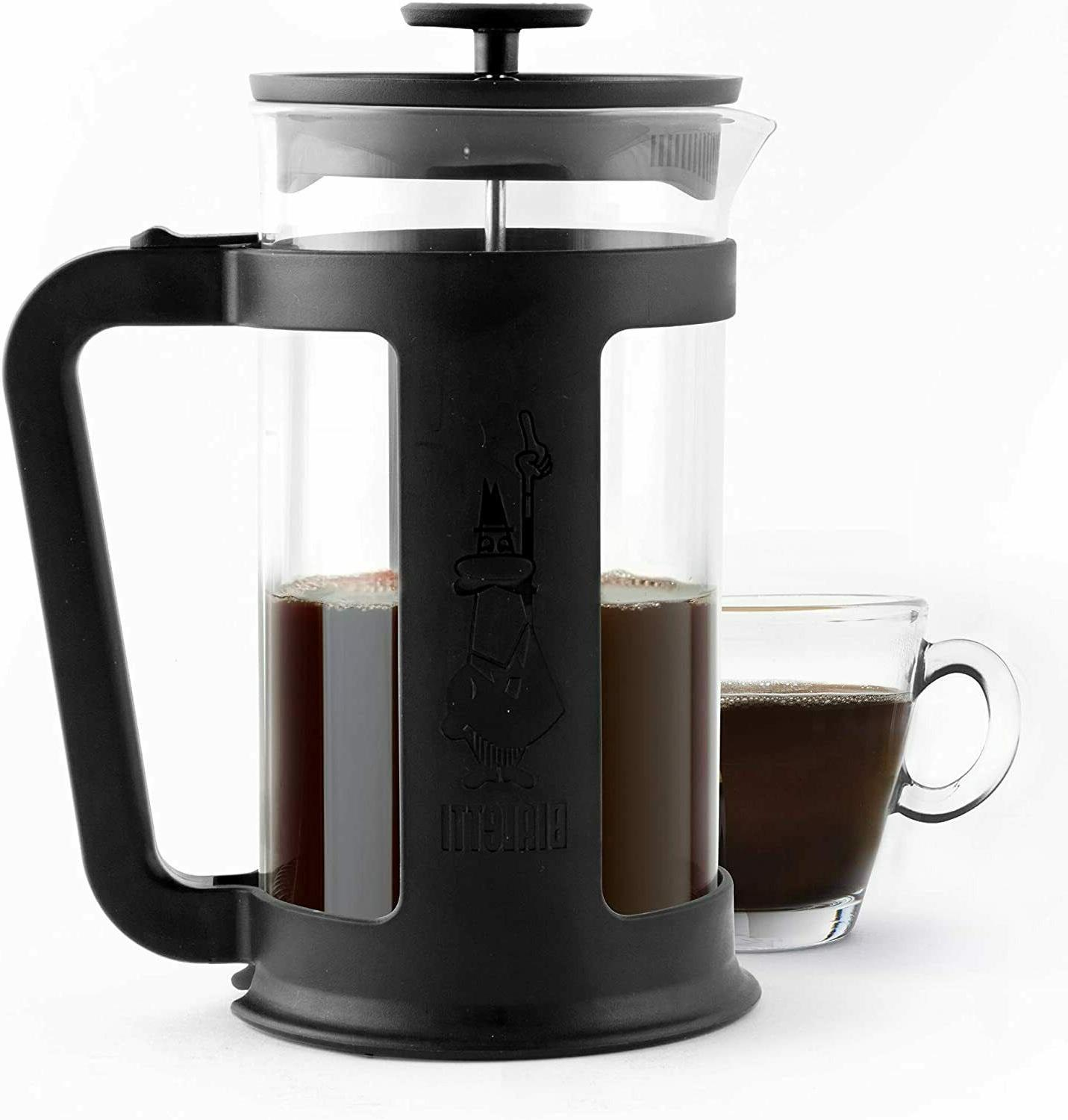 3-Cup French Coffee Press, Bialetti, Modern Black
